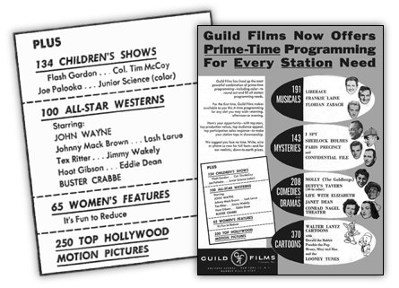 Guild Films advert 1956